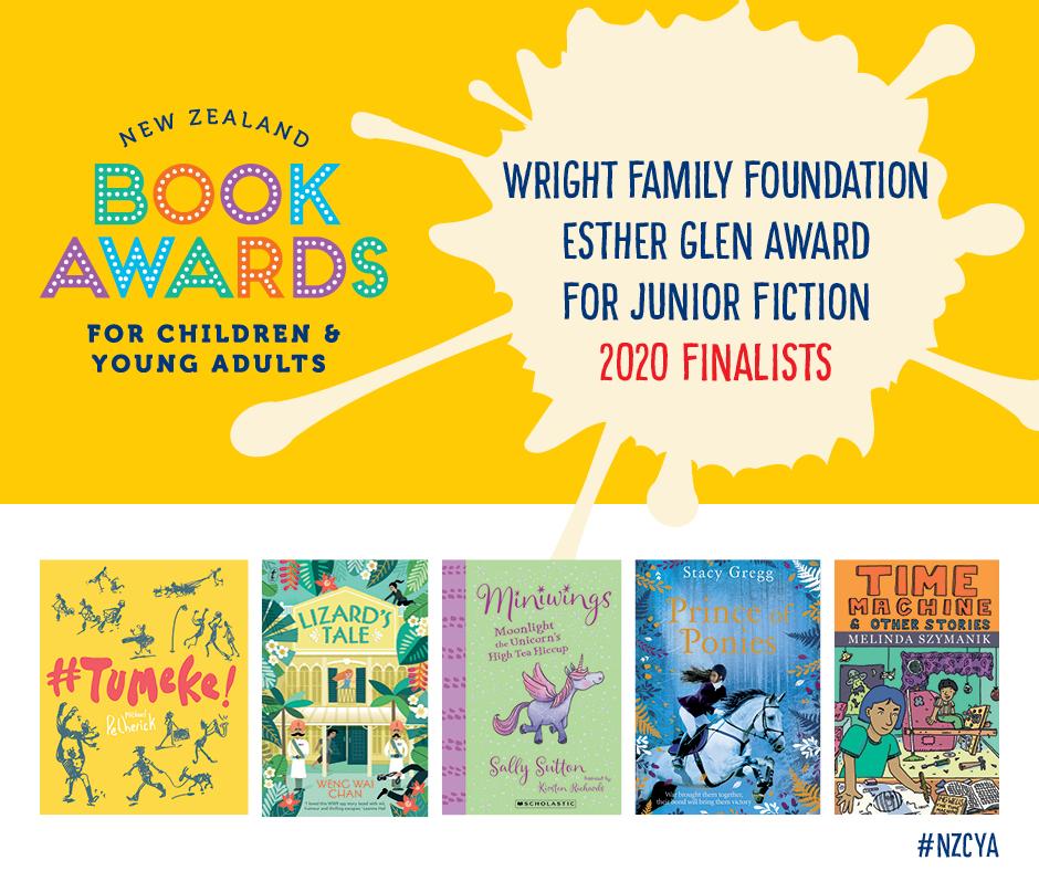 Wright Family Foundation Esther Glen Award for Junior Fiction