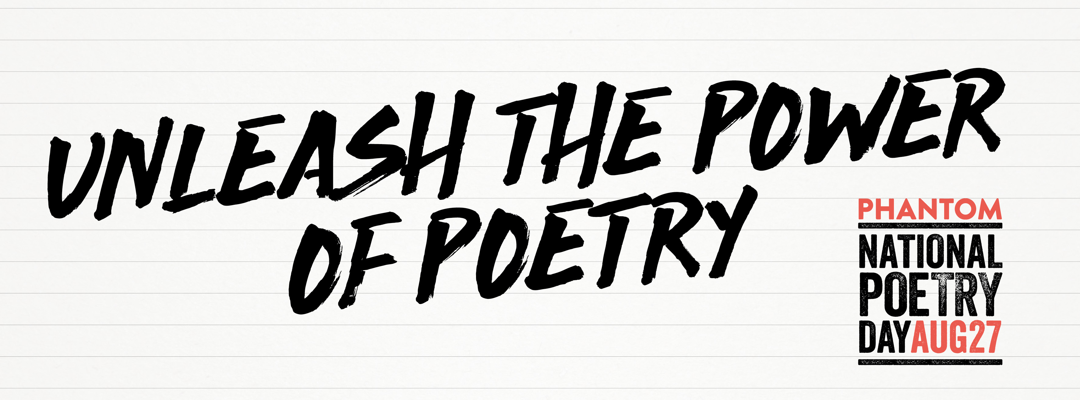 Unleash the power of poetry
