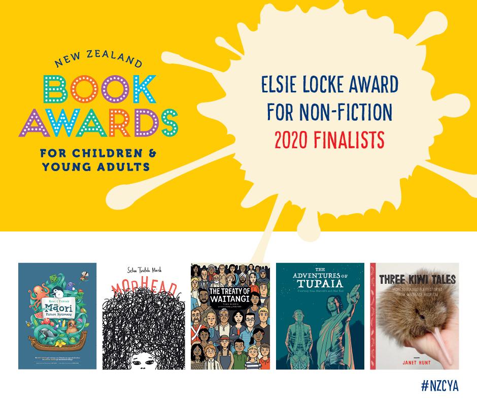 Elsie Locke Award for Non-Fiction