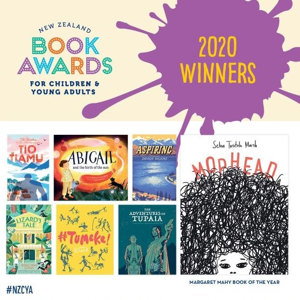 2020 New Zealand Book Awards for Children and Young Adults winners