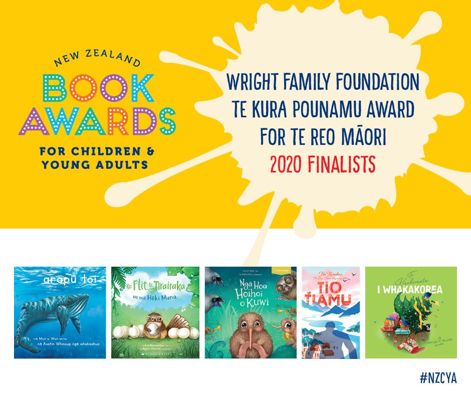 Wright Family Foundation Te Kura Pounamu Award for books written in te reo Māori